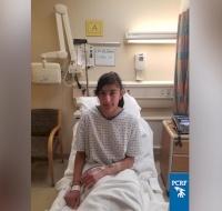Injured Palestinian Girl Undergoes Surgery