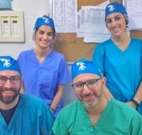 Neurosurgery Team Volunteers in Nablus