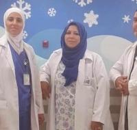 Two Nurses Sent to Jordan for Training