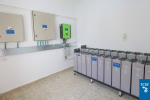 PCRF Provides Solar Power System for Hospital in Gaza