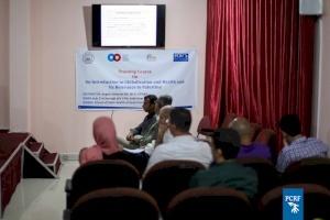 Italian Professor Returns to Gaza to Continue Training in Urgent Public Health Issues
