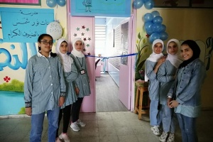 PCRF Opens Pediatric Clinic in Nur Shams Refugee Camp School