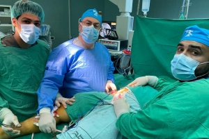 Michigan Surgeon Returns to Palestine