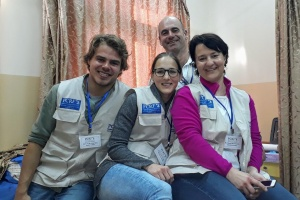 German Plastic Surgery Team Return to Jenin