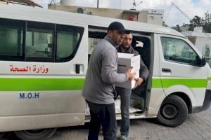 PCRF Donates Equipment for Gaza COVID-19 Hospital