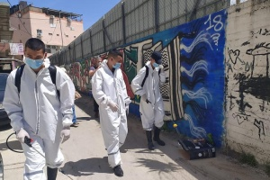 Infection Control Supplies for Balatta Refugee Camp