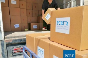 Food Distribution for Refugees in Shatila Camp