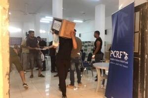PCRF Distributes Hundreds of Food Packages in Gaza Camp/Jordan
