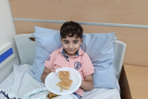 Child Life Skills in our Department Help Patients Learn New Skills