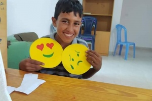 Sessions for Children in Gaza are Having a Positive Impact