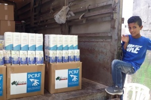 PCRF Teams up with AFOPA to Distribute Food to Families in Yatta