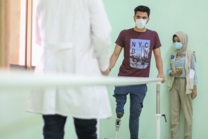 Mohammed Gets Adjustments After Treatment in the USA