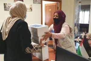 Humanitarian Kits Distributed in Nablus Area