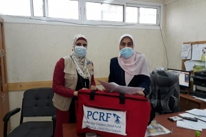 First Aid Kits Distributed to UNRWA Schools in West Bank