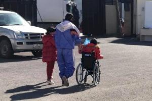 Wheelchair Distribution for Children in Jordan Begins