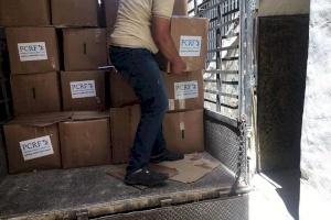 Refugees in Bekka Valley get food relief for Eid