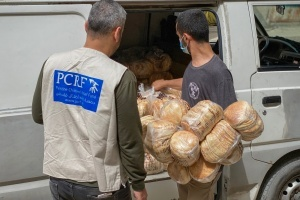 Urgent Bread Distribution for Affected Children in Gaza