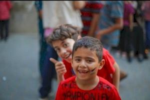 A celebration of life for Gaza's children