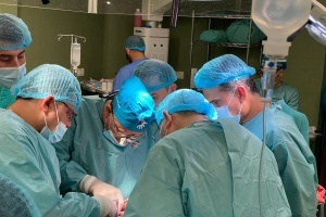 Transplant Surgeon Returns to Gaza