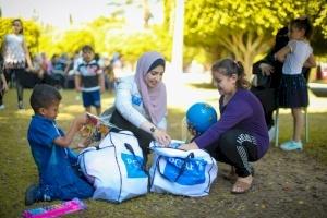 Gaza Children Get Toys