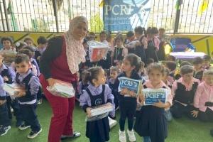 PCRF Distributes School Supplies To Kindergarteners