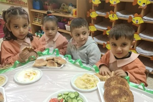 Refugee Children in Lebanon's Camps get Nutritional Support