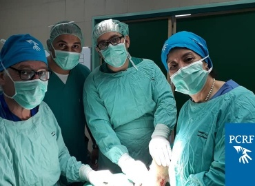 Chile Pediatric Orthopedic Surgery Team Returns to Palestine