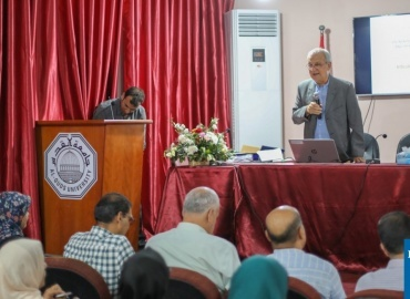 Italian Professor Returns to Gaza to Continue Training in Urgent Public Health Issues