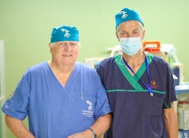 Arthroscopic Team Arrives in Gaza