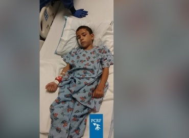 Gaza Boy Undergoes Surgery in Baltimore