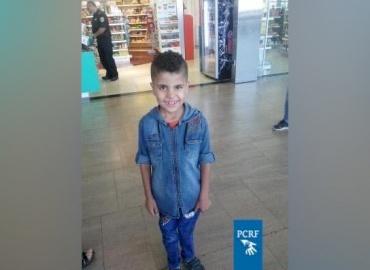 Palestinian Boy Travels to Egypt