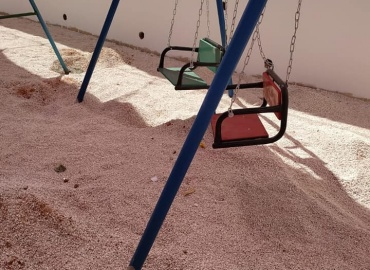PCRF Rehabilitates Special-Needs Playground in Jenin
