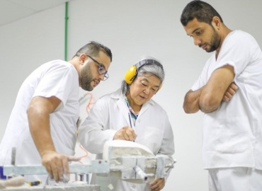 Prosthetic Specialist Returns to Gaza