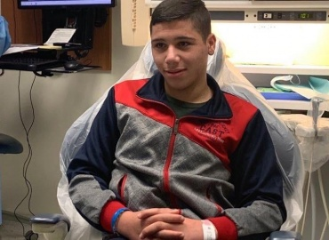 Palestinian Boy Arrives in Dallas for Surgery