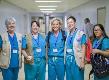 American Pediatric Surgery Team Returns to Gaza