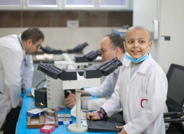 """Make a Wish"" Program helps Moayad to become a doctor"