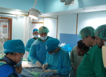 Italian Pediatric Cardiology Team Complete Mission to Gaza