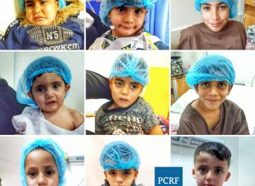 Nine Syrian Refugee Children Sponsored for Surgery in Jordan