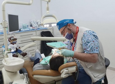 Dr. Paolo Arcangeli Volunteer in Nablus