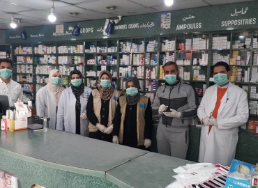 Despite the introduction of COVID-19 into Gaza, we continue to provide the chronically sick children in our Monthly Sponsorship Program their medicine
