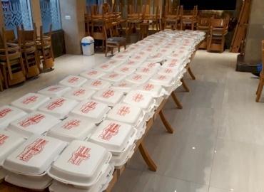 PCRF Provides Food for Hundreds Under Quarantine in Gaza