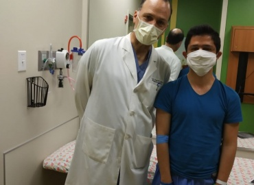 Palestinian Boy has Surgery in Dallas