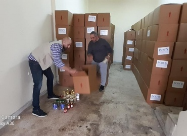 Food and infection control materials arrive for Ein el Hilweh Camp
