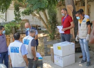 PCRF Delivers Urgent Medical Equipment to Gaza