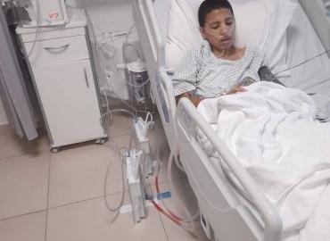 Syrian Boy Has Life-Saving Surgery in Jordan