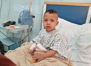 Syrian Boy Has Surgery In Lebanon