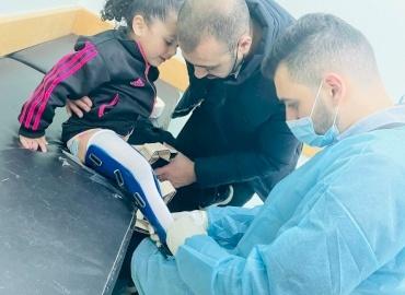 Tala Has New Prosthesis Sponsored in Gaza