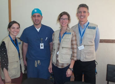 Orthopedic Surgeon Returns to Palestine