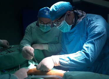 Pediatric Orthopedic Surgeon Returns to Palestine