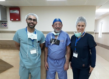 American Hand Surgery Team Volunteers in Palestine